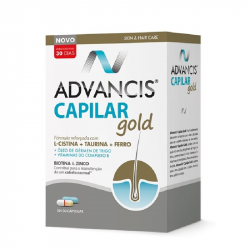 Advancis Capilar Gold 30+30cápsulas
