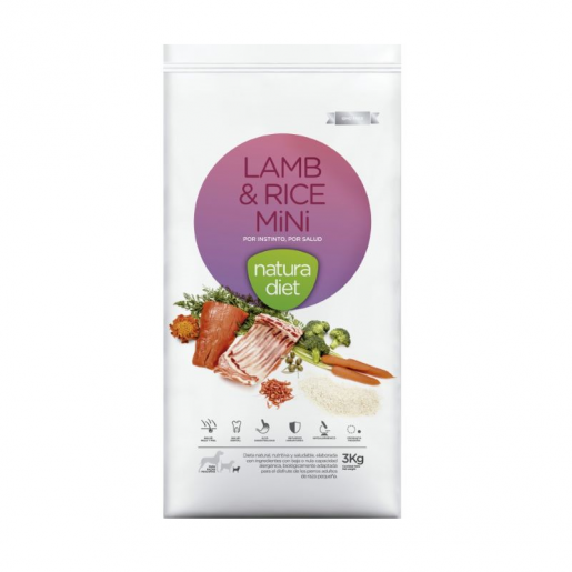 Natura Diet Lamb & Rice Mini 500g