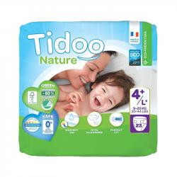 Tidoo Nature 4+ 23 Fraldas