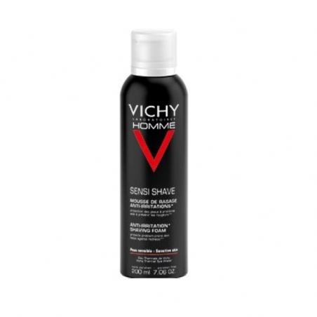 Vichy Homme Espuma de Barbear Anti-Irritações 200ml