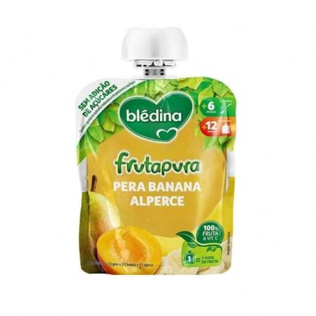Blédina Saqueta Pêra Banana Alperce 90g