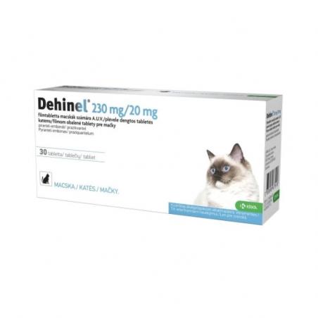 Dehinel 230 mg/20 mg 30 comprimidos