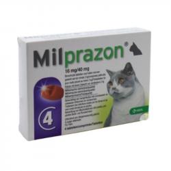 Milprazon 16mg/40mg 4 comprimidos
