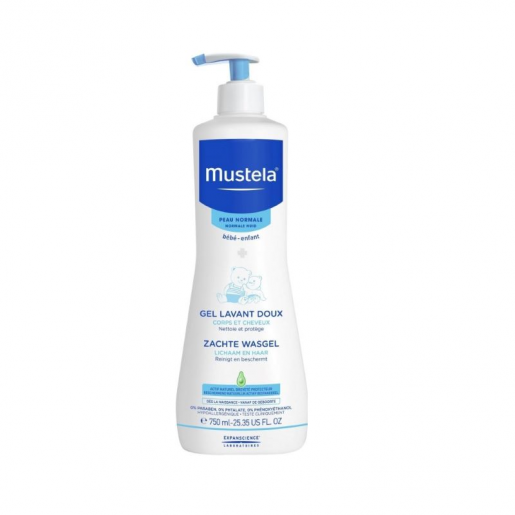 Mustela Gel Lavante Suave 750ml