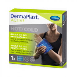 DermaPlast Active Bolsa de Gel Reutilizável Hot/Cold 13x14cm