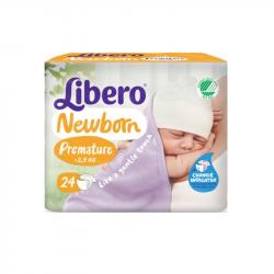 Libero Newborn Premature 24 unidades