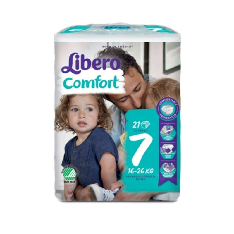 Libero Comfort 7 21 unidades