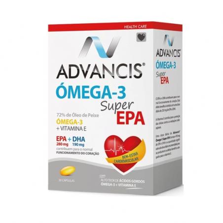 Advancis Ómega-3 Super EPA 30cápsulas