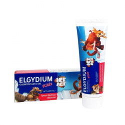 Elgydium Kids Dentífrico Morango 50ml