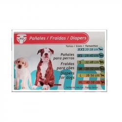Sanhuk Fralda para Cães Tam XL 12 unidades
