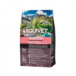 Arquivet Cão Sensitive Salmon & Potatoes 3Kg