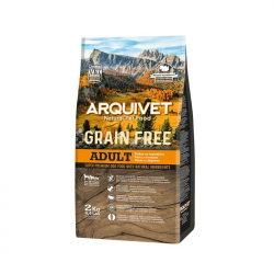Arquivet Cão Grain Free Adult Turkey 2Kg