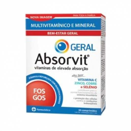 Absorvit Geral 30comprimidos