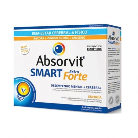 Absorvit Smart Extra Forte 30ampolas