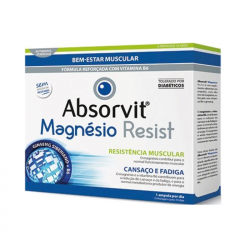 Absorvit Magnésio Resist 10ampolas