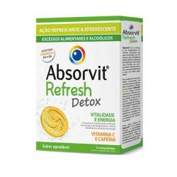 Absorvit Refresh Detox 12comprimidos efervescentes
