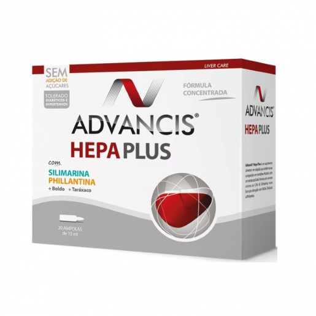 Advancis Hepa Plus 20ampolas