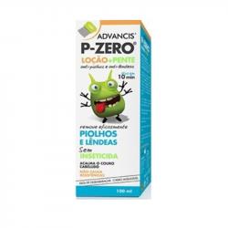 Advancis P-Zero Loção+Pente Anti-piolhos 100ml