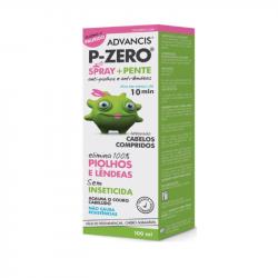 Advancis P-Zero Spray +Pente Anti-piolhos 100ml