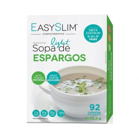 Easyslim Sopa Light de Espargos 3x26,5g