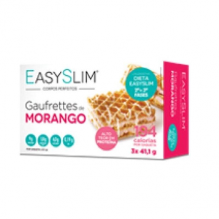Easyslim Gaufrettes de Morango 3x41,1g