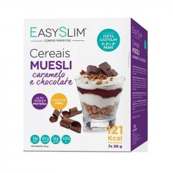 EasySlim Cereais Muesli Caramelo e Chocolate 7x30g