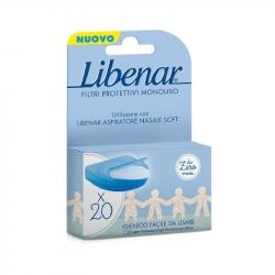 Libenar Soft Filtros Protectores para Aspirador Nasal 20unidades