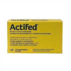 Actifed 20comprimidos