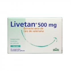 Livetan 500mg 40comprimidos