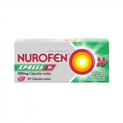 Nurofen Xpress 200mg 20cápsulas moles