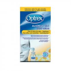 Optrex Actimist 2in1 Olhos com Comichão + Lacrimejantes Spray Ocular 10ml