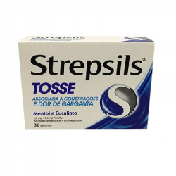 Strepsils Tosse 36pastilhas