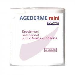 Agederm Mini Softcanis Cães & Gatos 30cápsulas