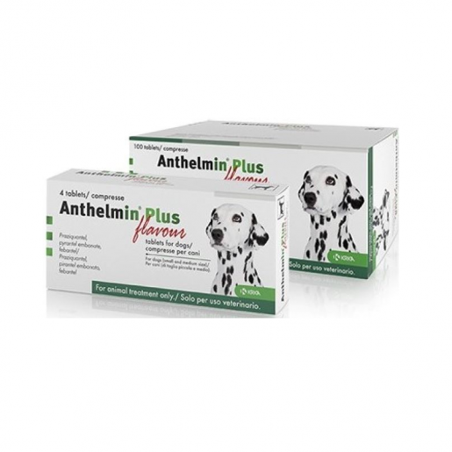 Anthelmin Sabor 100comprimidos