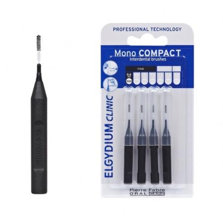 Elgydium Clinic Escovilhões Mono Compact Preto 0,6mm
