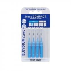 Elgydium Clinic Escovilhões Mono Compact Azul 0,8mm