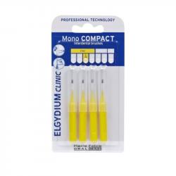 Elgydium Clinic Escovilhões Mono Compact Amarelo 1,0mm