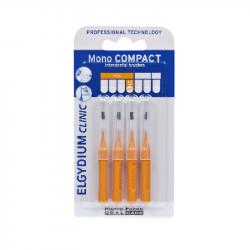 Elgydium Clinic Escovilhões Mono Compact Laranja 1,2mm
