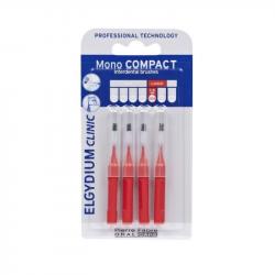Elgydium Clinic Escovilhões Mono Compact Vermelho 1,5mm