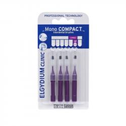 Elgydium Clinic Escovilhões Mono Compact Roxo 1,8mm
