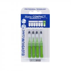 Elgydium Clinic Escovilhões Mono Compact Verde 2,2mm
