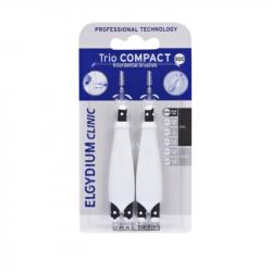 Elgydium Clinic Escovilhões Trio Compact Simples Muito Estreitos