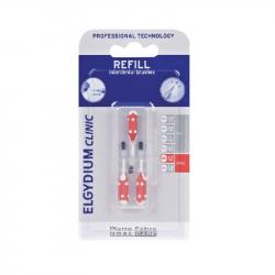 Elgydium Clinic Escovilhões Recargas Vermelho 1,5mm