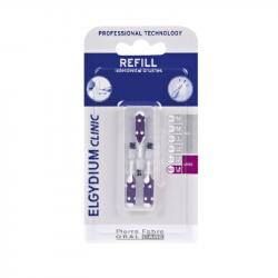 Elgydium Clinic Escovilhões Recargas Roxo 1,8mm