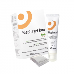 Blephagel Duo Gel 30g + Compressas 100unidades