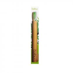 Babu Estojo Bambu para Escova de Dentes Adulto