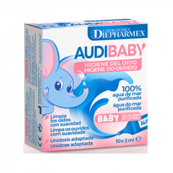 AudiBaby Higiene do Ouvido Unidoses 10x2ml