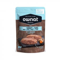 Ownat Wet Sterilized Turkey&Tuna Gato 12x85g