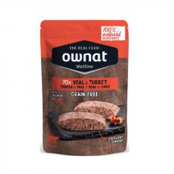Ownat Wet Veal&Turkey Gato 12x85g