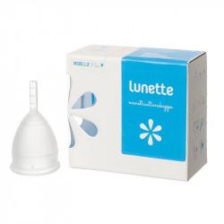Copo Menstrual Lunette Transparente Tam 2